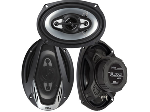 "New Pair Boss Nx694 800W 6X9"" 4 Way Car Audio Speakers 800 Watt"