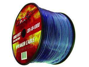 New Xxx Cbx181000 18 Ga 1000' Spool Speaker Wire With Translucent Insulation