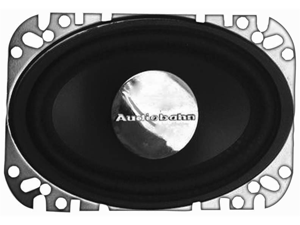 "Audiobahn AS46J 4"" x 6"" 80 Watts Peak Power Full Range Speakers with Removable Tweeter for Remote Mounting"