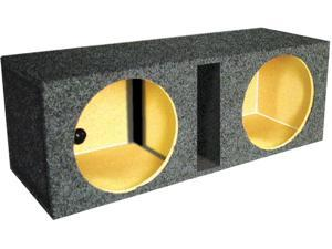 "Q-Power Qbass15 Empty Subwoofer Box (2) 15"" Slot Ported Box Sub Enclosure"
