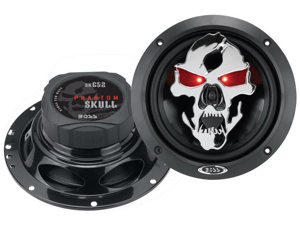 "New Pair Boss Sk652 6.5"" 2 Way 300W Car Speakers Audio 300 Watt 6 1/2"""