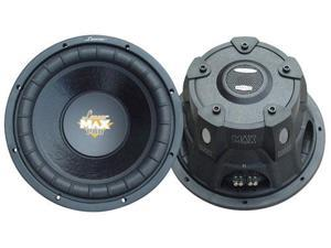 Lanzar - Max Pro 15'' 2000 Watt Small Enclosure Dual 4 Ohm Subwoofer