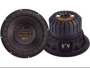Lanzar - Max 10'' 800 Watt Small Enclosure 4 Ohm Subwoofer