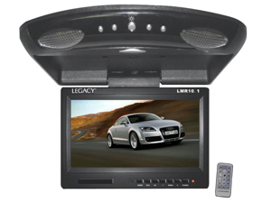 "Legacy - 9"" High Resolution TFT Roof Mount Monitor w/ IR Transmitter & Wireless Remote Control"