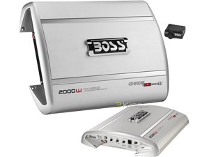 BOSS AUDIO CXX2002 2000W 2-CHANNEL MOSFET POWER AMP CHAOS EXXTREME II SERIES