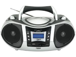 NEW Naxa NPB-250 Portable CD MP3 Player Stereo USB SD Card