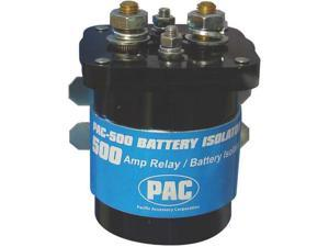 NEW PAC PAC500 WATER RESISTANT 500 AMP RELAY BATTERY ISOLATOR RELAY PAC-500