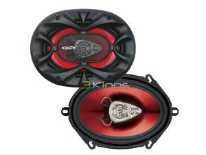 "New Pair Boss Ch5730 5X7"" 3 Way 300W Car Audio Speakers 300 Watt"