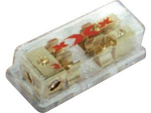 NEW XXX X3428 1 IN / 2 OUT AGU FUSE BLOCK 4 GAUGE INPUT AND 8 GAUGE OUTPUT