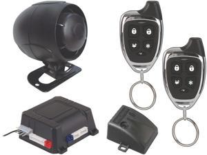 New Scytek G25 Car Alarm Keyless Entry Security System 2 Chrome Remote Controls