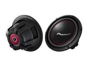 New Pioneer Sub Ts-W254r 1100 Watt 10 Inch Subwoofer Car Audio 10 Sub