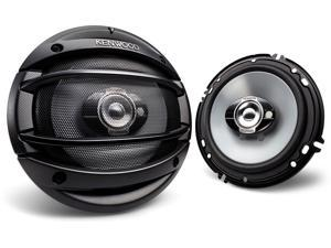"New Pair Kenwood Kfc1394ps 3 Way 160W Car Audio Coaxial Speakers 5_"" Kfc-1394Ps"