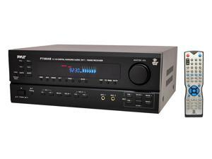 New Pyle Pt588ab 5.1 Ch Home Theater Am Fm Receiver & Amplifier W/ Bluetooth