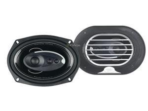 "New Pair Power Acoustik Xp694k 6X9"" 420W 4 Way Car Audio Speakers Xp-694K"