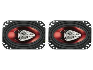 "New Pair Boss Ch4630 4X6"" 3 Way Car Speaker 250W Car Audio Speakers 250 Watt"