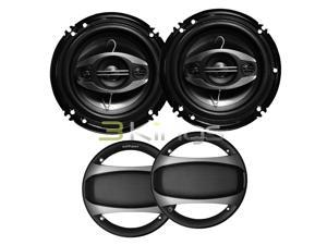 "New Pair Nippon Dsa1683s 6.5"" 4 Way 350W Car Audio Speakers 6 1/2"" Ds-A1683s"