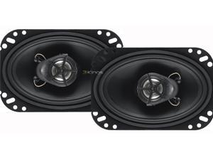 BOSS AUDIO CER462 Tweeter 220 Watts Peak Power Car Speakers Black poly Injection Cone