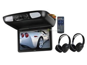 "Boss Bv121mc 12.1"" Widescreen Overhead Monitor W/ Dvd Wireless Headphones"