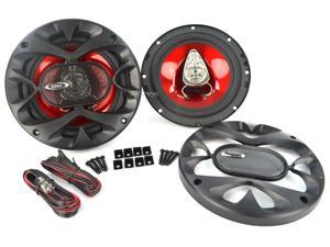 "New Pair Boss Ch6530 6.5"" 3-Way 300W Car Audio Speakers 600 Watt 6 1/2"""
