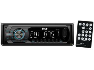 New Pyle Plr44mu In Dash Mp3 Usb Sd Aux Car Receiver Stereo Radio Am Fm & Remote