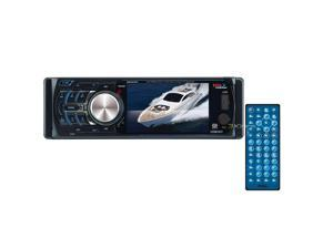 "New Boss Mr360uv Marine 3.6"" Single Din Monitor Dvd Mp3 And Cd"