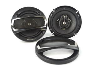 "New Pioneer Ts-A1675r Car Stereo 6.5"" 3-Way Ts Coaxial Speakers Pair Tsa1675r"