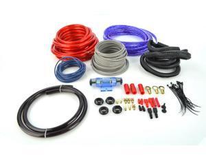 New Boss Kit10 Car Audio 4 Ga Amplifier Amp Wiring Kit 4 Gauge Kit-10