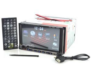 "Boss Bv9558 7"" Touchscreen In-Dash 2 Din Dvd/Mp3 Car Player Receiver Usb/Sb Aux"