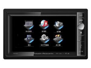 "New Power Acoustik Pd650 Motorized 6.5"" Widescreen Touchscreen W/ Dvd Player"