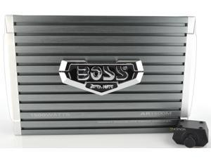 New Boss Audio Ar1500m 1500 Watt Mono A/B Car Amplifier Power Amp Mosfet +Remote