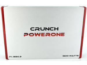 New Crunch P116502 1600W 2 Ch Car Audio Amplifier Amp 2 Channel P1-1650.2