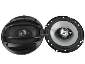 "New Pair Kenwood Kfc1664s 6.5"" 3 Way 180W Car Audio Coaxial Speaker Kfc-1664S"