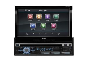 "New Boss Bv9977 7"" Touchscreen Single Din Cd Dvd Mp3 Sd Usb Car Audio Car Radio"