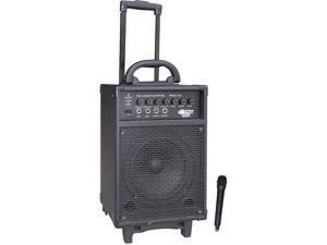 PylePro PWMA330 300 Watt VHF Wireless Battery Powered PA System W/Echo