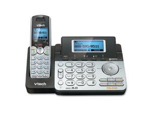 Vtech Dect 6.0 2 Line Cordless Phone With Answering And Addtl Handset