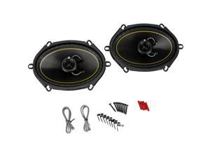 "New Pair Kicker Ds68 140 Watt 6X8"" Coaxial Car Speakers 2-Way Car Audio"