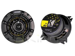"""New 2011 Pair Kicker Ds40 4"""" 2-Way Coaxial Car Audio Speakers 50W Rms 11Ds40"""