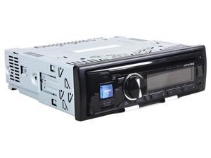 New Alpine Cde-141 Single Din Car Audio Cd Player Wma/Mp3 Player Am/Fm Car Radio