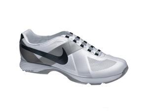 Nike Golf Women's Lunar Summer Lite Golf Shoe,White/Black Metallic Silver,6.5...