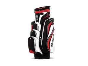 TaylorMade Catalina 3.0 Cart Bag (Black / Red) - N22167