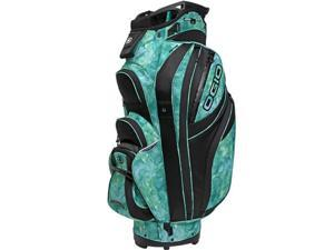 OGIO 2013 Women's Petra Golf Cart Bag - 124016-274 - Green Watercolor