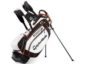 TaylorMade 2013 PureLite Golf Stand Bag - N2290901 - White / Black / Orange