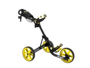 Clicgear Model 3.5+ Golf Cart, Charcoal/Yellow (CGC353-CYEL) - New for 2013!