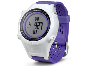 Garmin Approach S2 GPS Golf Watch with Worldwide Courses - Purple