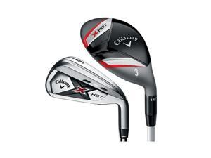 Callaway X Hot Iron Combo Set (Men's, Right Hand, Steel, Stiff, 4-5H, 6-PW, SW)