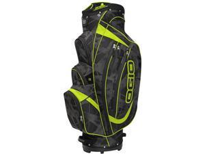 OGIO 2014 Men's Shredder Golf Cart Bag - Fracture/Acid