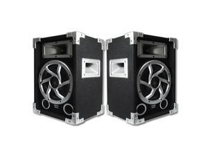 Acoustic Audio GX-450 PA Karaoke DJ Speakers 1400 Watts 2 Way Pair New