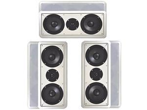 "Acoustic Audio CC6-3S In-Wall 6.5"" 900W Speaker System"