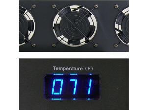 Technical Pro fn3s 2 .5U Rack-Mountable Triple Fan Cooling Unit