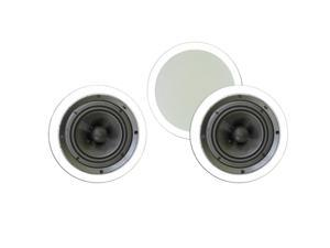 "Theater Solutions 6.5"" In Ceiling Deluxe HD Home Theater 3 Speaker Set 750 Watts TSS6C-3S"
